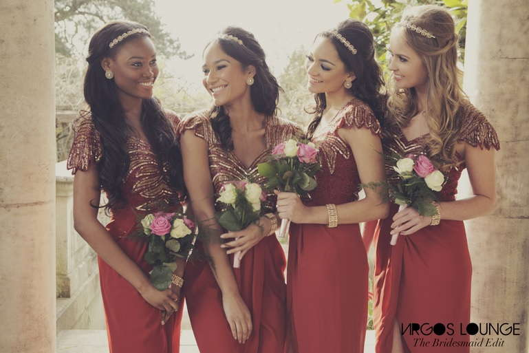 Bridesmaids Dresses by Virgos Lounge