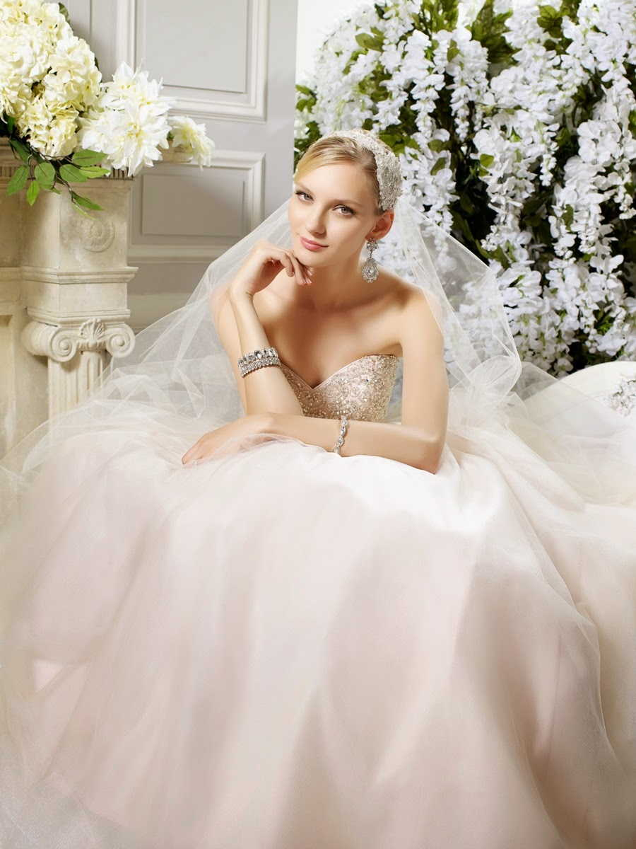 Moonlight Fall 2015 Wedding Dresses Collection