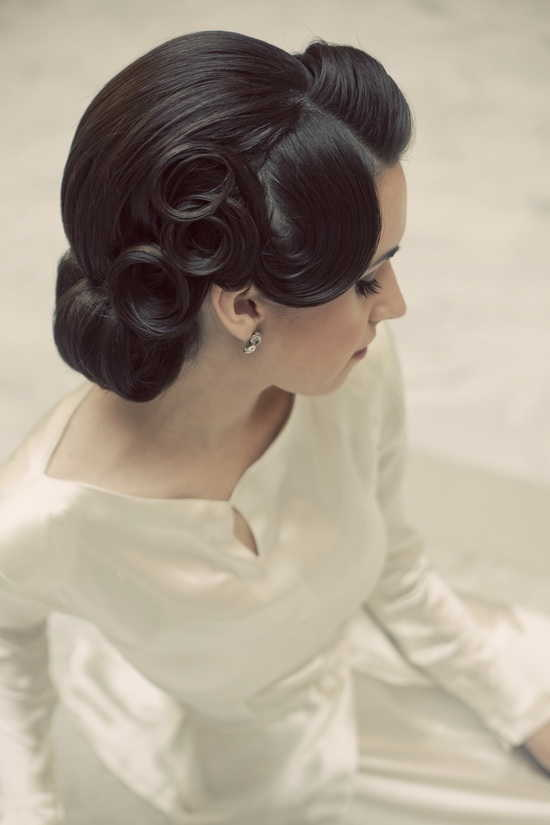 Wonderful Wedding Hairstyles 1950s Era