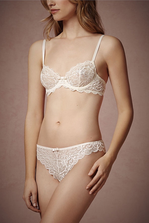 BHLDN Bridal Lingerie Collection - Bienvenue Knickers
