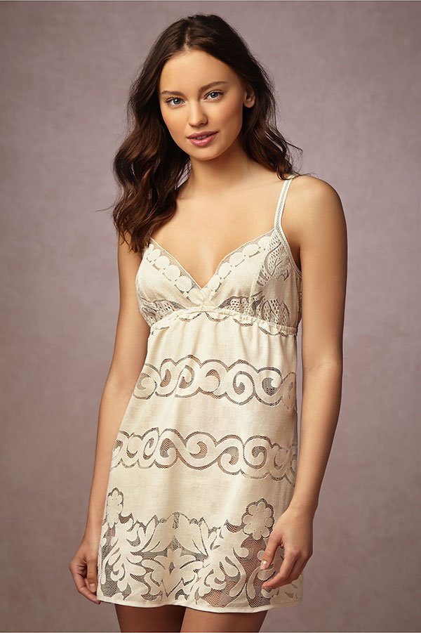 BHLDN Bridal Lingerie Collection - Niceties Stitched Chemise