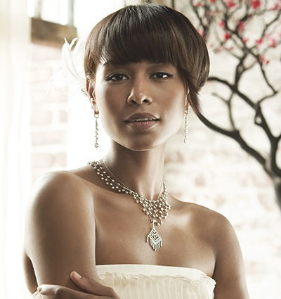 Wedding Hairstyles for Black Women - Bang Theory