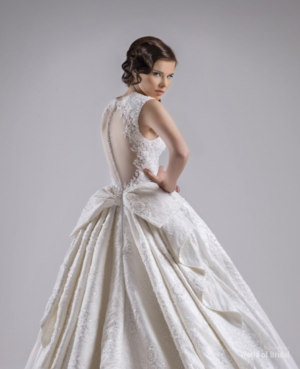 Chrystelle Atallah 2015 Wedding Dress