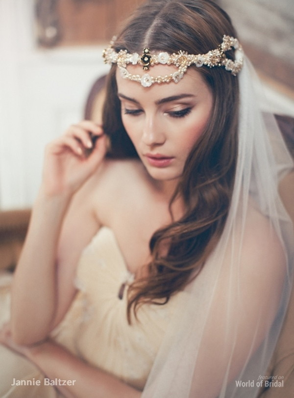 Jannie Baltzer Couture 2015 Headpiece