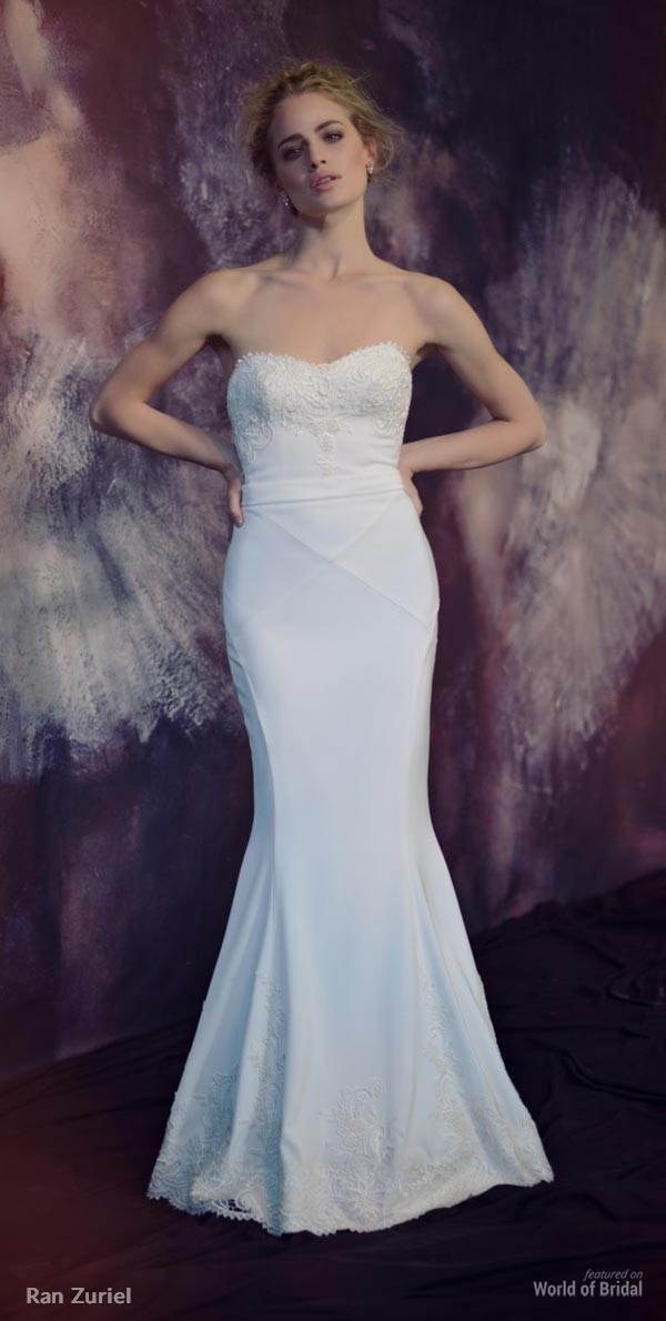 Ran Zuriel 2015 Wedding Dress
