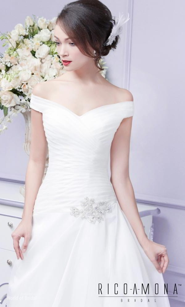 Rico A Mona 2015 Wedding Dress