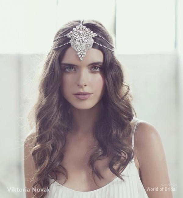 Viktoria Novak 2015 Bridal Couture Headpiece