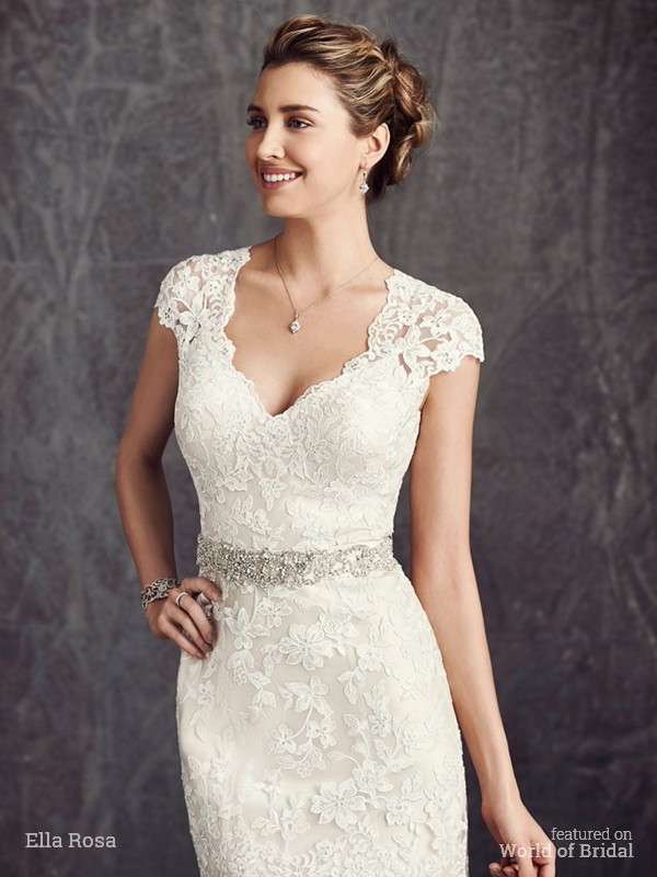 Ella Rosa Fall 2015 Wedding Dress