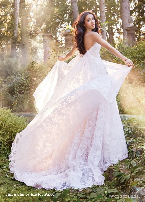 Jim Hjelm by Hayley Paige Fall 2015 Wedding Dress