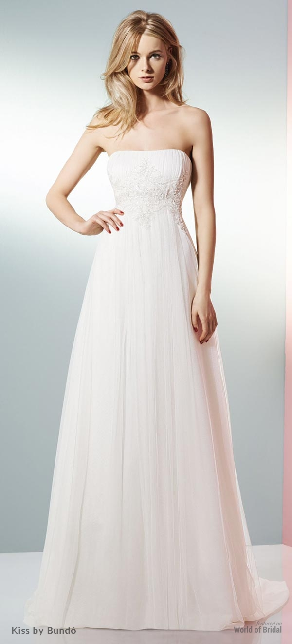 Kiss by Bundo 2015 Wedding Dress