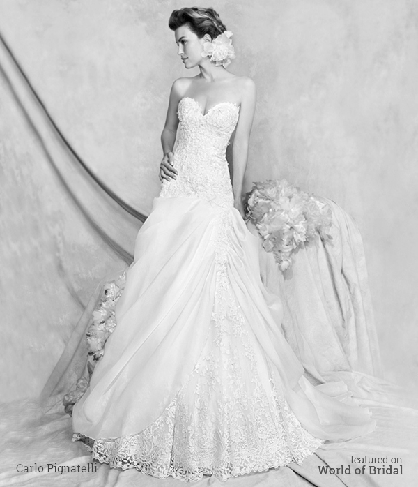Carlo Pignatelli Couture 2016 Wedding Dress