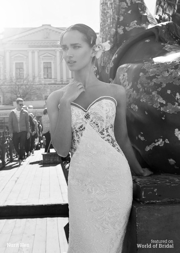 The White Heart Collection by Nurit Hen 2016 Wedding Dress