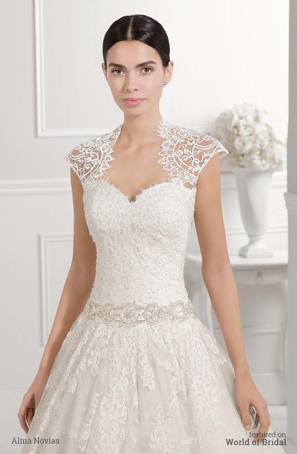 Alma Novia 2016 Wedding Dress