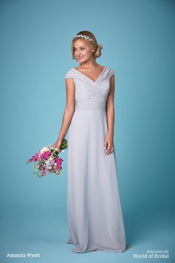 Amanda Wyatt 2016 Bridesmaid Dress