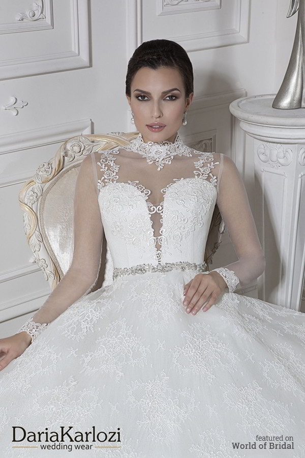 Daria Karlozi 2016 Wedding Dress