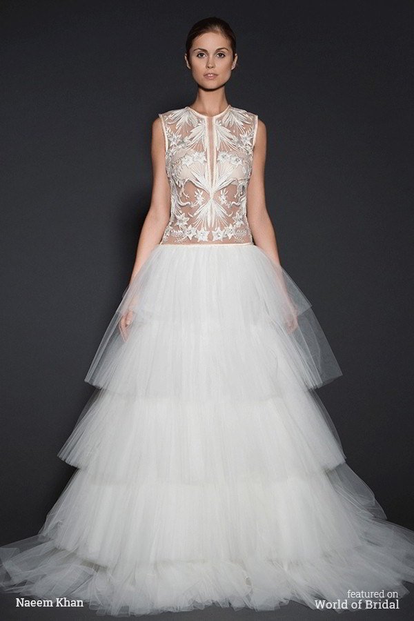 Naeem Khan Spring 2016 Wedding Dress