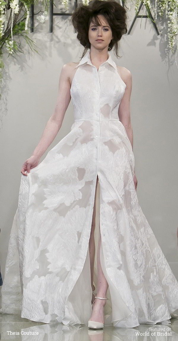 Theia Couture Spring 2016 Wedding Dress