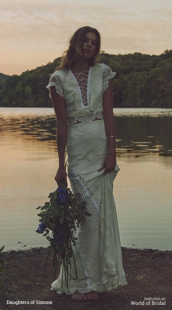 Daughters Of Simone 2016 Wedding Dress