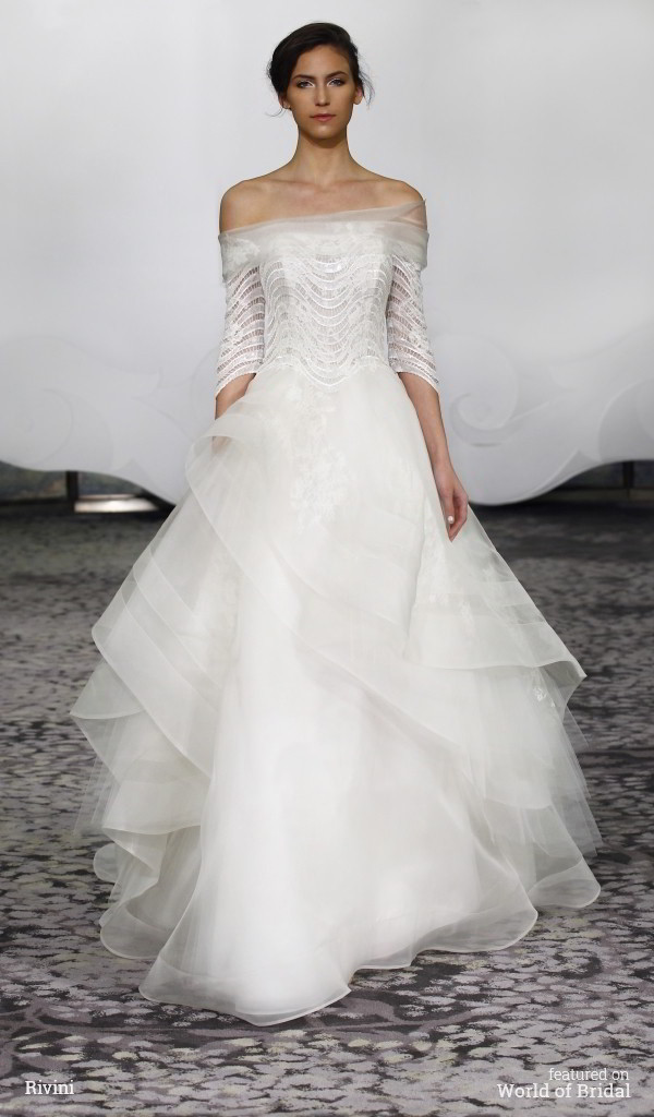 Rivini Spring 2016 Wedding Dress