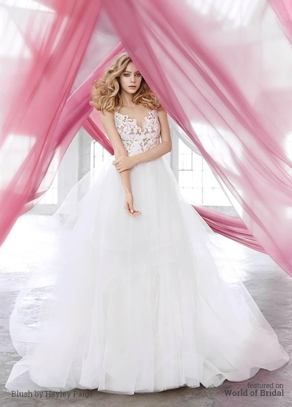 Blush by Hayley Paige Spring 2016 Wedding Dress