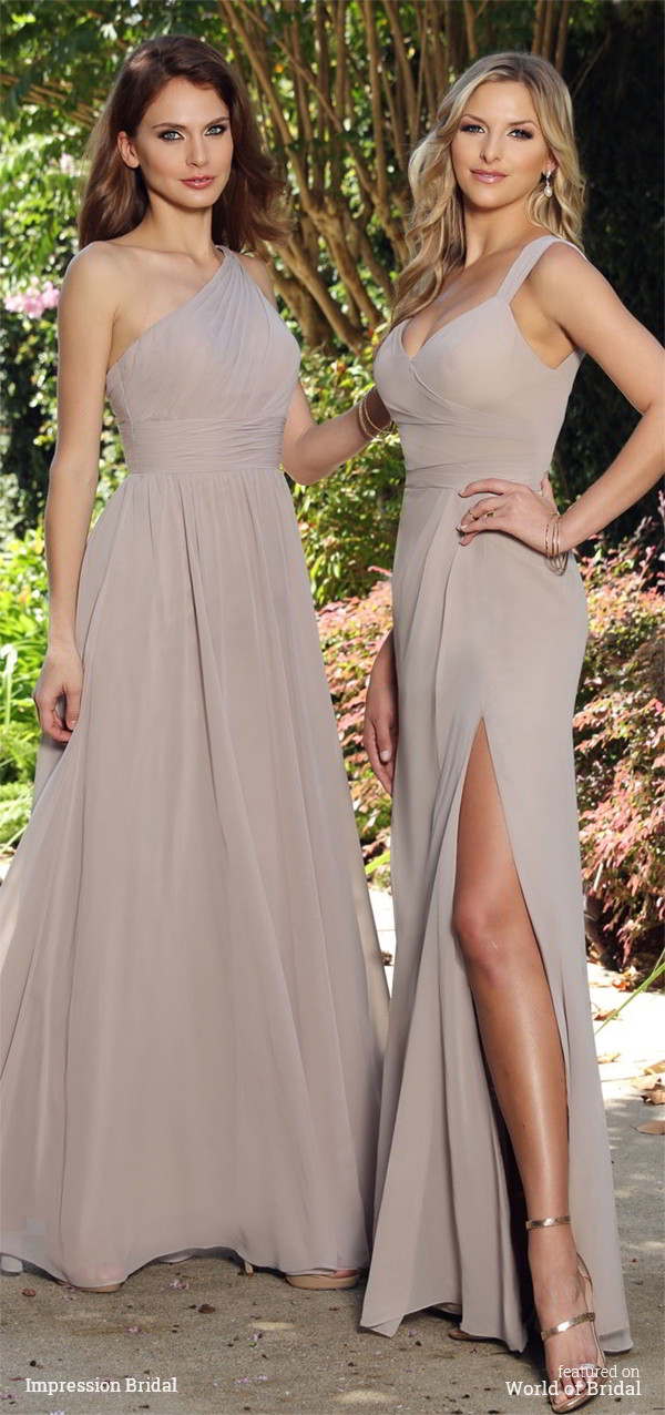 Impression Bridal 2016 Bridesmaid Dresses