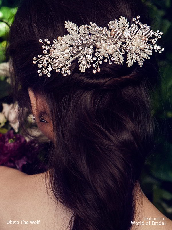 Olivia The Wolf 2016 Bridal Headpiece