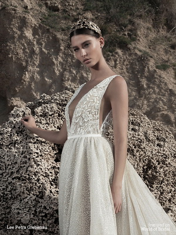 Lee Petra Grebenau Fall 2016 Wedding Dress
