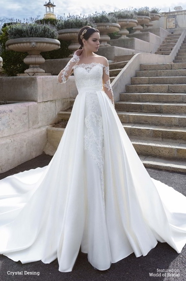 Crystal design 2016 wedding dresses world of bridal for Design wedding dress online