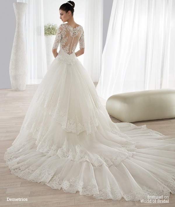 Wedding Dresses Demetrios - Flower Girl Dresses