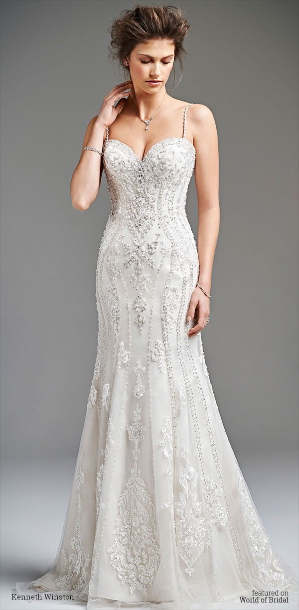 Kenneth Winston Spring 2016 Bridal Gown Collection