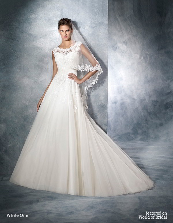 White One 2016 Wedding Dresses