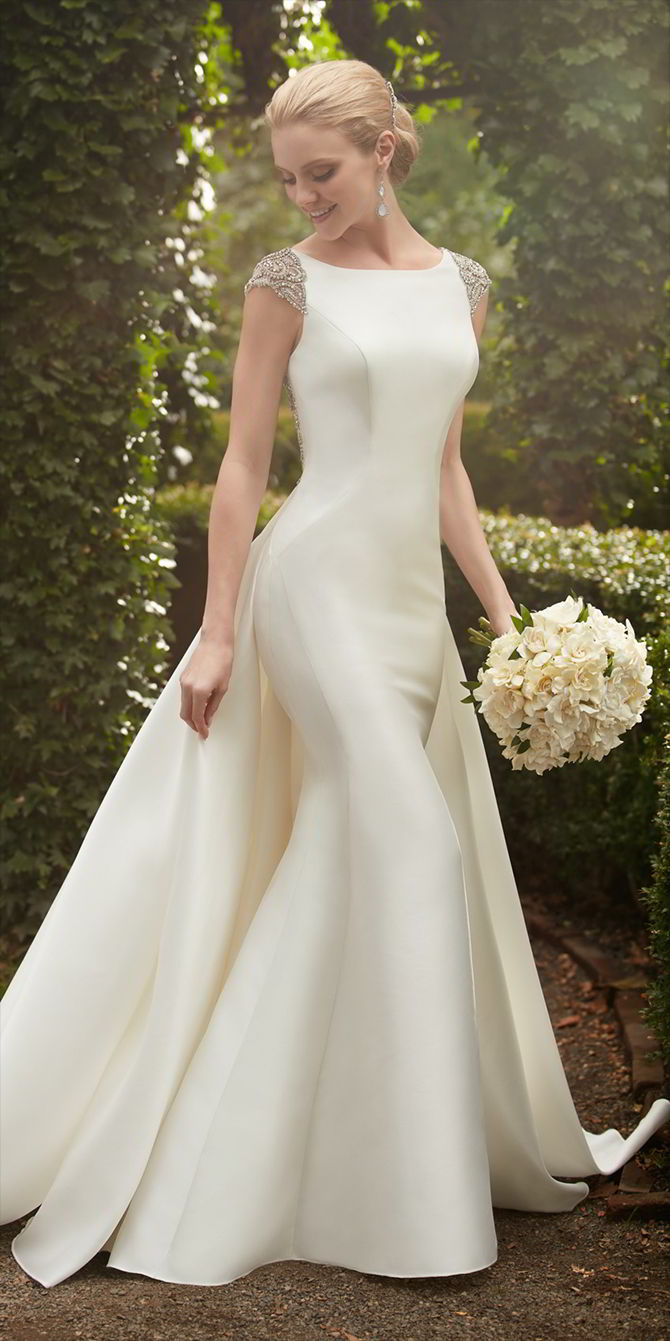 martina liana spring wedding dresses detachable wedding dresses Martina Liana Spring wedding dress with detachable train