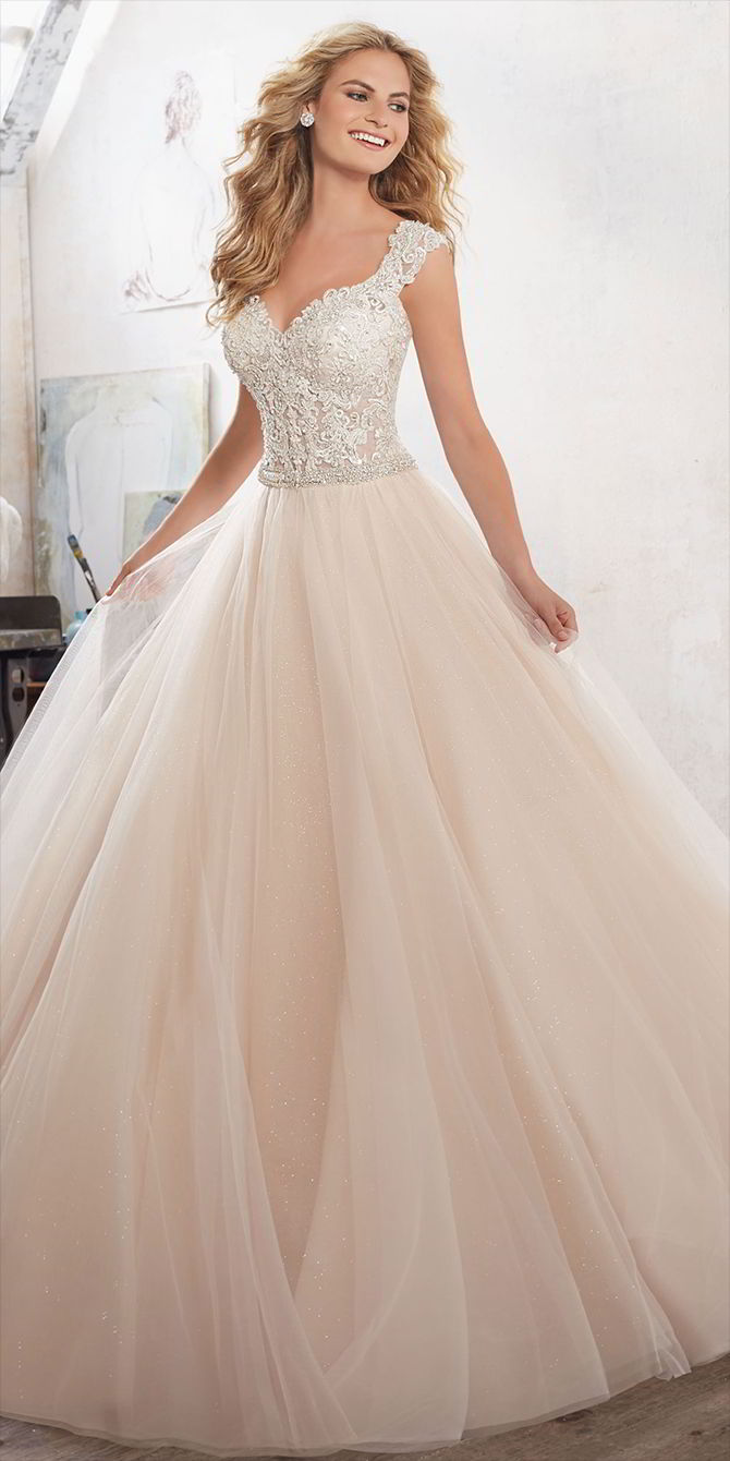 Mori Lee by Madeline Gardner Spring 2017 Fairytale Princess Ball gown