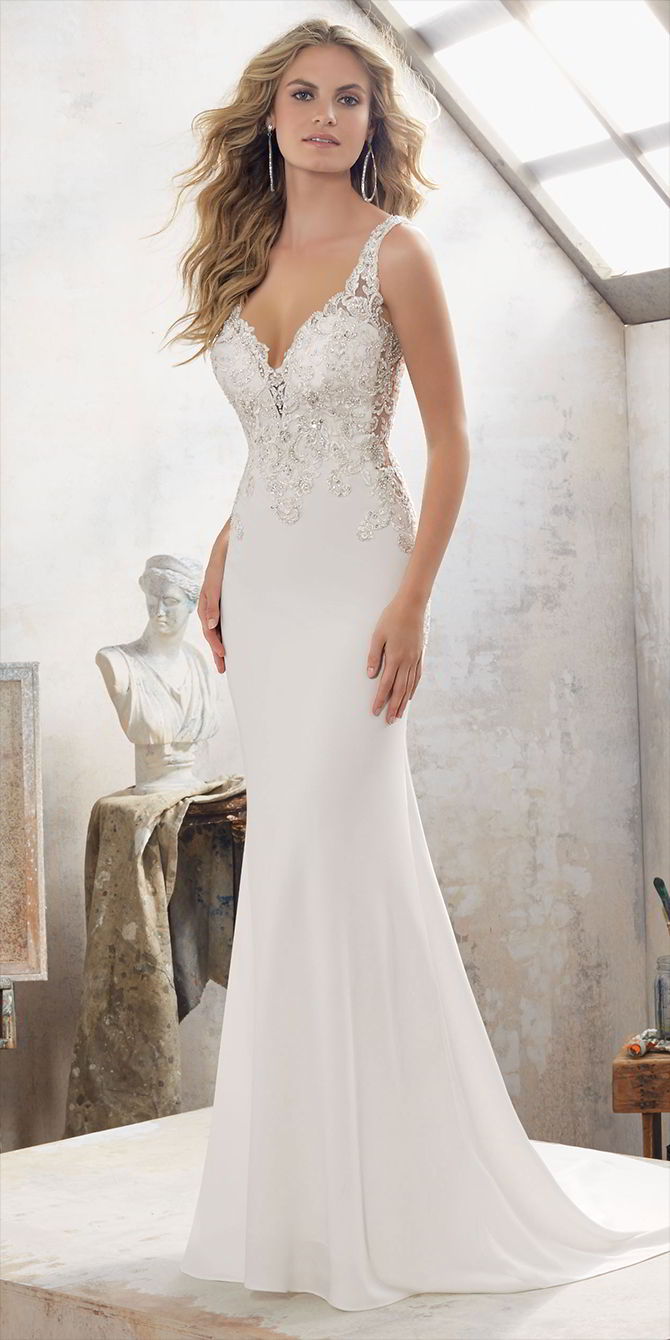Mori Lee by Madeline Gardner Spring 2017 Wedding Dress