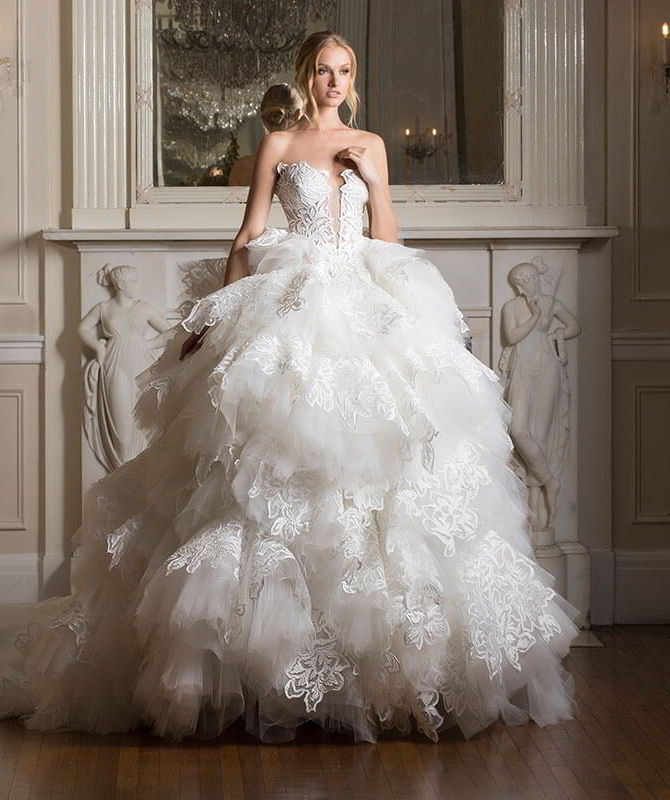 Popolare Pnina Tornai 2016 Wedding Dresses - World of Bridal BQ61