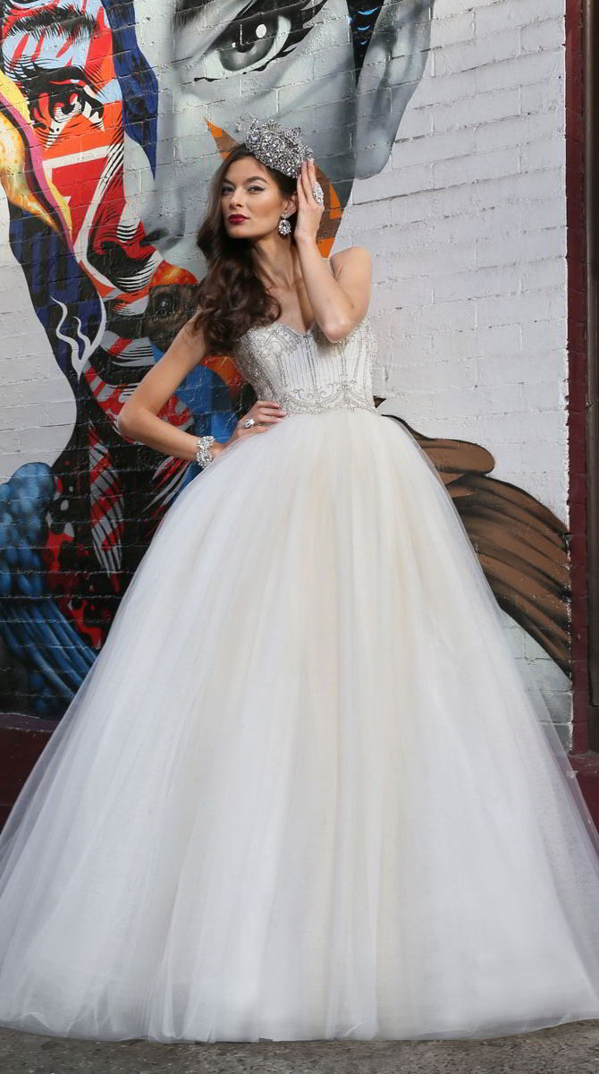 Victor Harper Couture Spring 2017 Full tulle ball gown