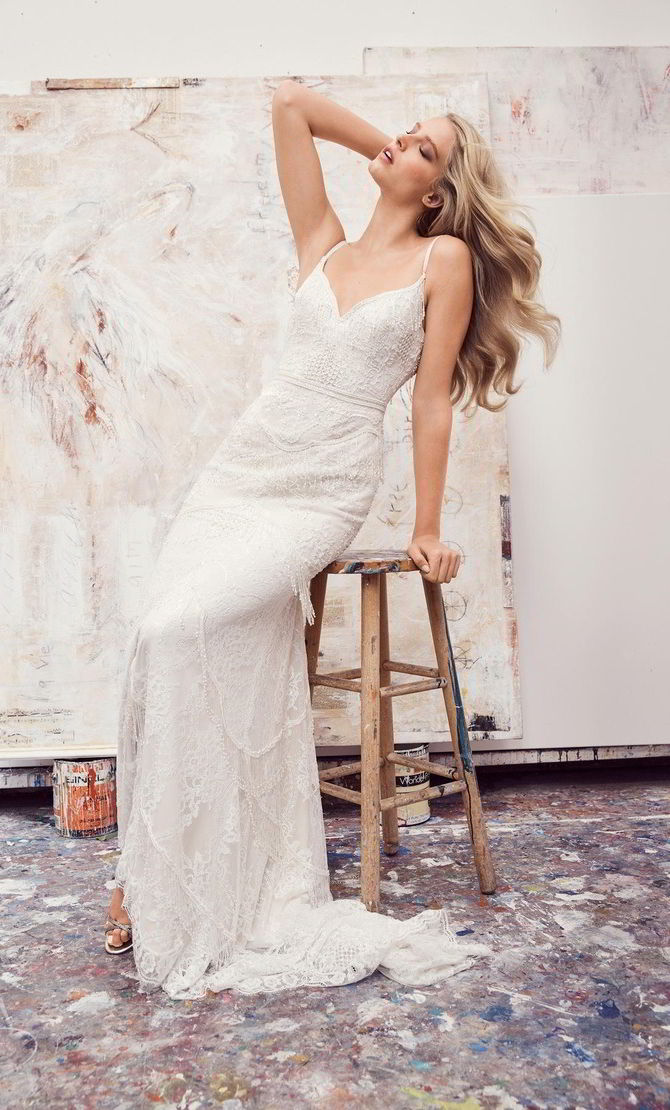 Watters Spring 2017 Wedding Dress