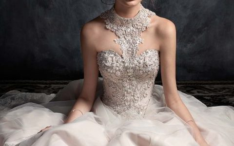 Kenneth Winston Couture Fall 2017 Wedding Dress