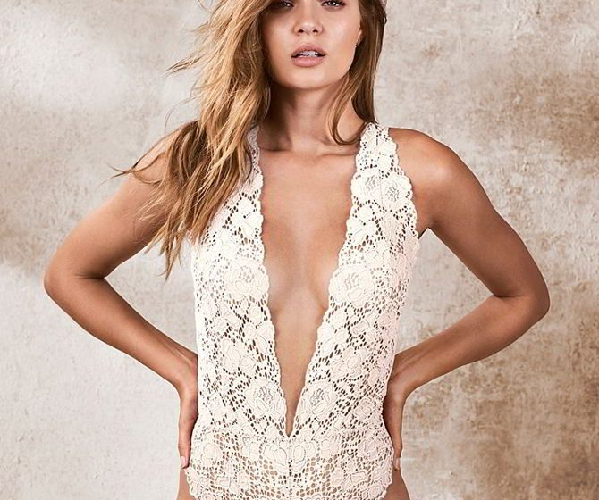 Victoria's Secret 2017 Bridal Lingerie