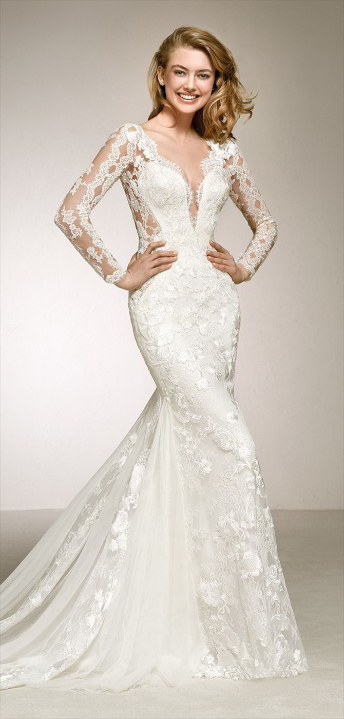 Pronovias 2018 Wedding Dresses World Of Bridal