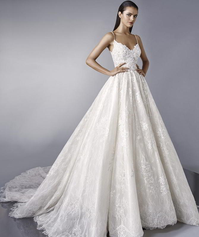 Enzoani 2018 dreamy wedding ball gown