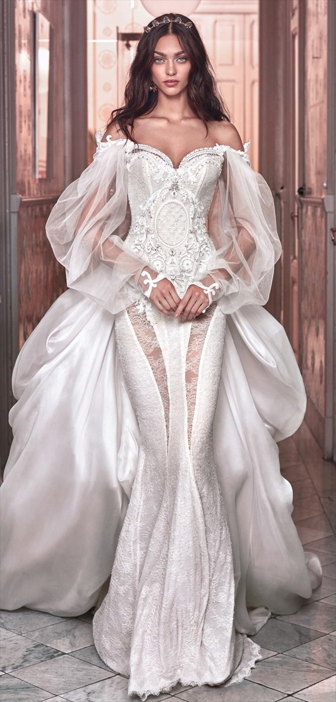 Galia lahav 2018 wedding dresses world of bridal galia lahav 2018 victorian wedding gown junglespirit Images
