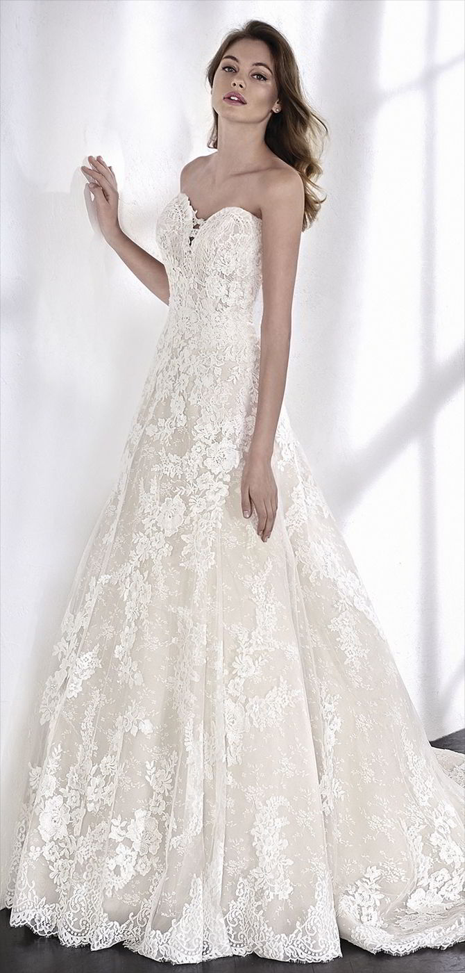 San Patrick 2018 A-line wedding dress with a sweetheart neckline