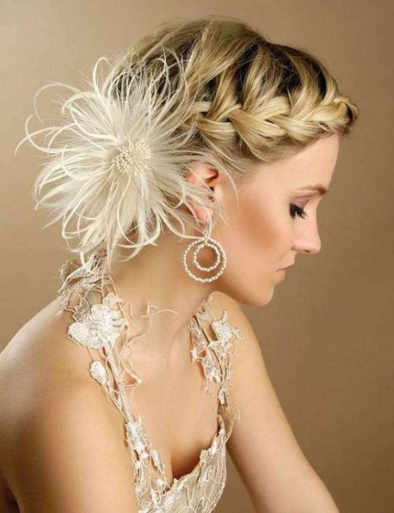 medium bridal hairstyles | world of bridal