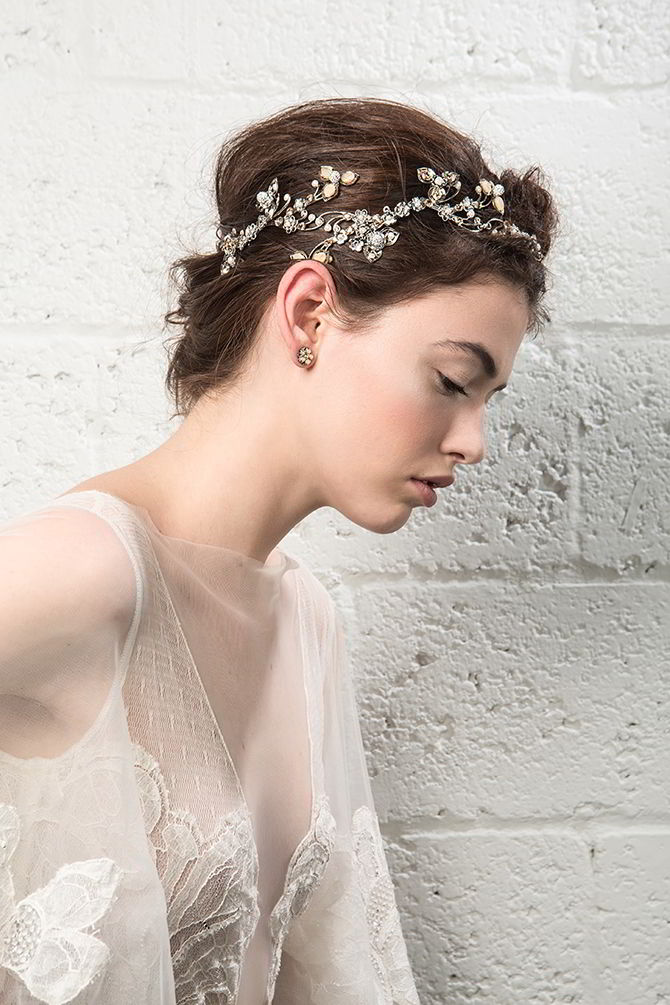 Maria Elena Fall 2017 Bridal Headpieces