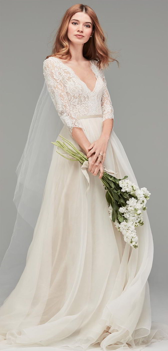 Watch Turn Heads With Wedding Dresses From Watters Spring 2015 Bridal Collection video