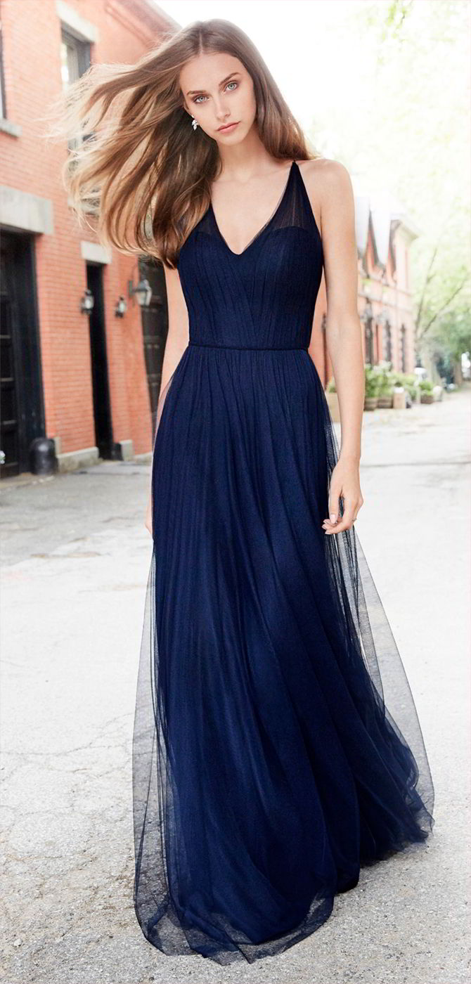Hayley paige occasions fall 2017 bridesmaids dresses world of bridal hayley paige occasions fall 2017 indigo english net a line bridesmaid gown ombrellifo Choice Image