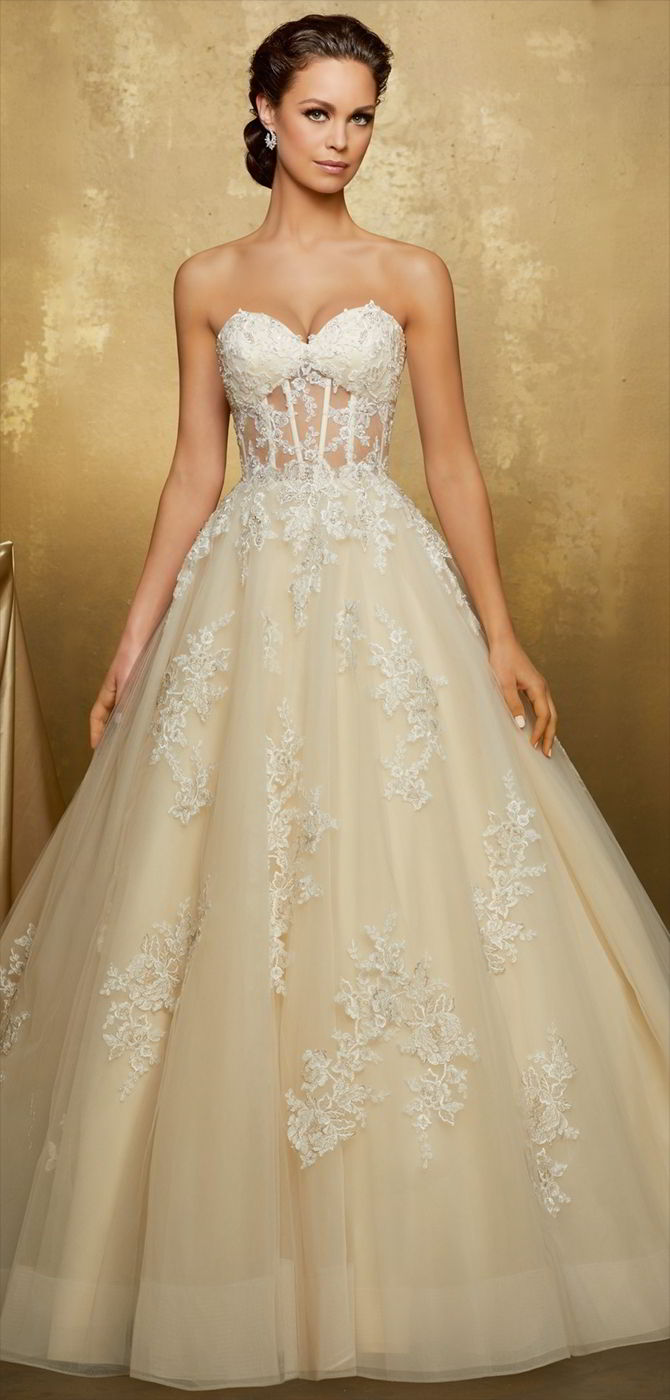 Madeline Gardner 2017 Wedding Dresses - World of Bridal