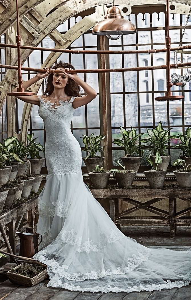 olvis lace haute couture 2017 wedding dresses with