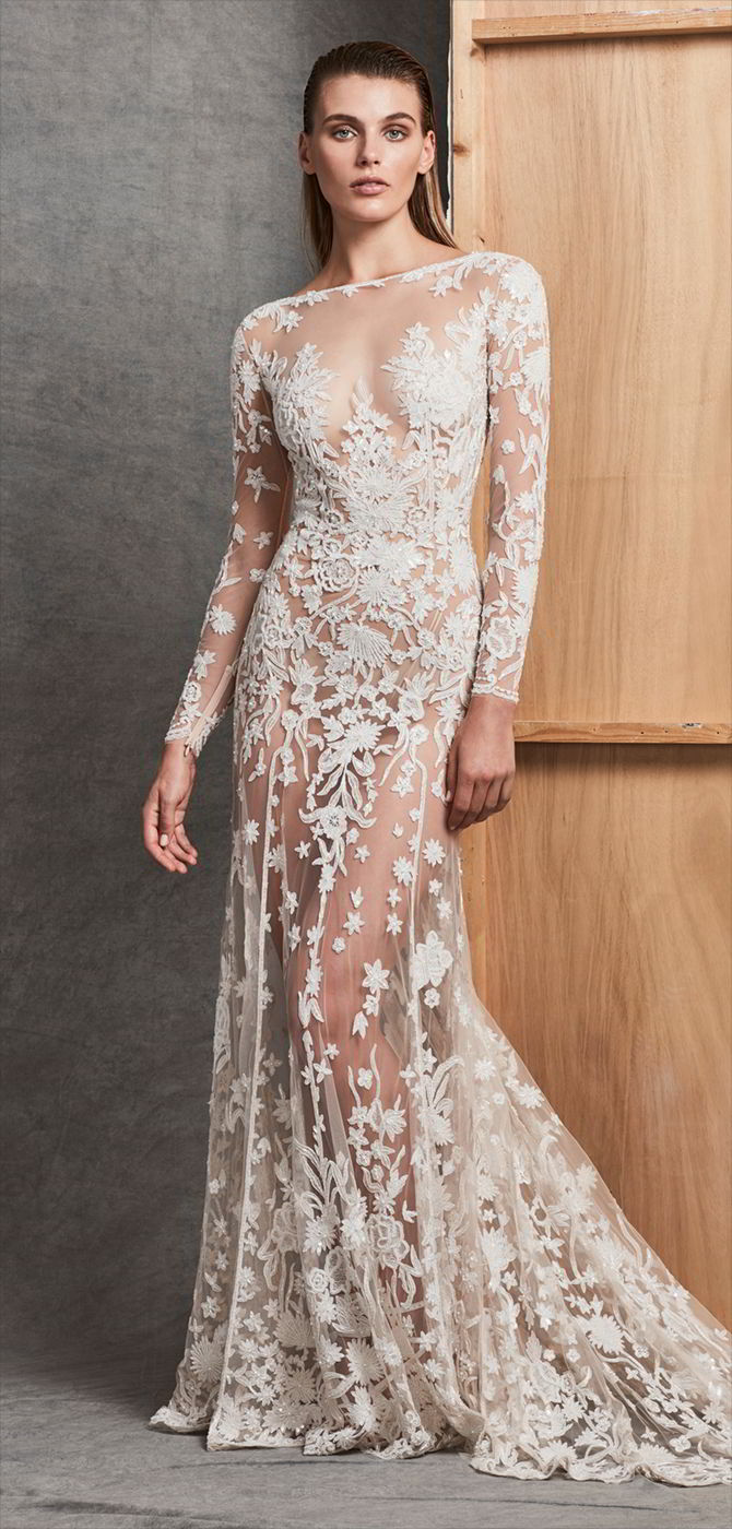 Zuhair Murad Bridal Spring 2017 collection runway looks beauty models and reviews